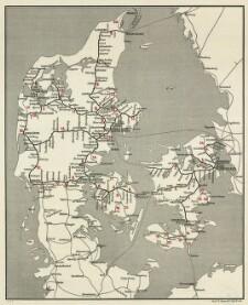 jernbaner på kort