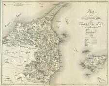 Kort Over Den Nordre Deel Af Hjorring Amt Eller Herrederne 1