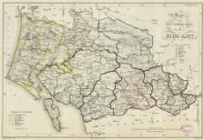 Kort Over Den Nordre Deel Af Ribe Amt 1827 Digitale Samlinger