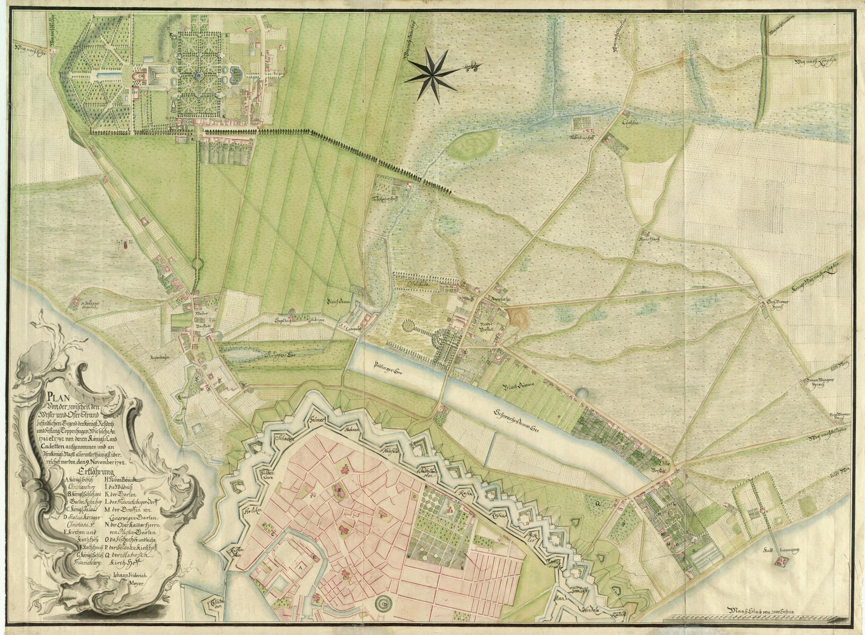 1742 Københavns forstæder