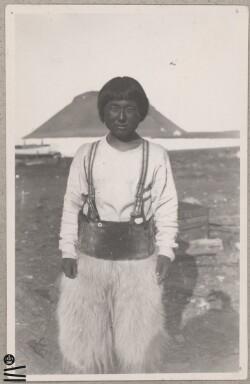 Dreng ved Uummannaq-fjeldet