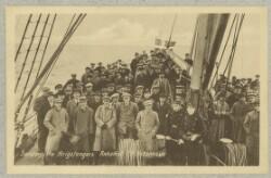 Sønderjyske Krigsfangers Ankomst til København