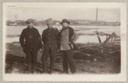 Tre russiske krigsfanger ved Assens