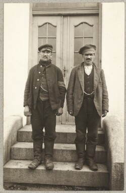 To russiske krigsfanger i Brørup