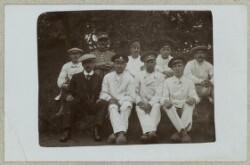 Otte russiske krigsfanger