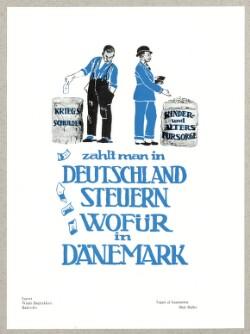 zahlt man in Deutschland Steuern wofür in Dänemark