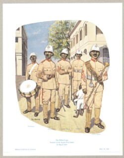 The Militia Corps - Transfer of the West Indies 31 March 1917