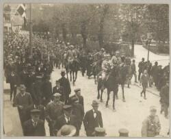 Sønderjysk Kommandos indtog i Sønderborg den 5. maj 1920
