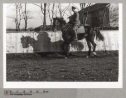 Tysk militær til hest i Senheim