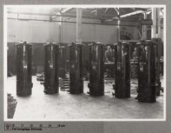 Gasgeneratorer i fabrikshal
