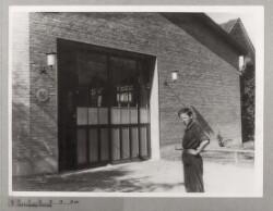 Skovgaard Mortensens Autoværksted på Ålekistevej 150, 8. august 1943