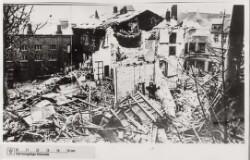 Schalburgtage: Ruindynger: teatret i Randers, 22. februar 1945