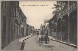 Gadebillede fra Charlotte Amalie