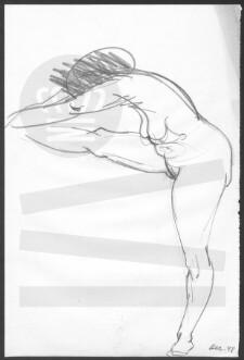 venstre ben hæver