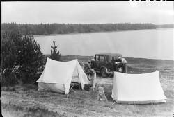 Telttur ved Hampen Sø