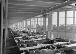 Sovesal på Skolen ved Sundet på Amager