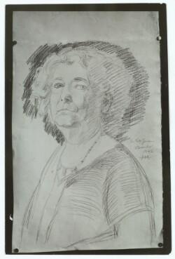 Skitse af Harald Moltke