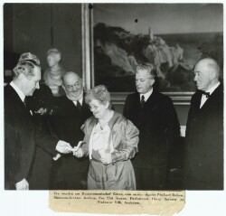 Fru Thit Jensen fik Holberg-Medaillen