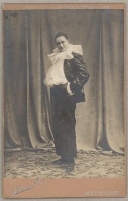 Betty Nansen i Harlekins Omvendelse af Ove Rode