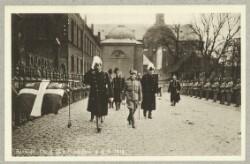 Roskilde. Chr. d. IX's Mindefest d. 8-4-1918.