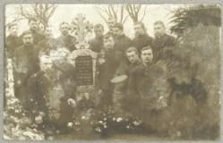 Begravelse af russisk krigsfange