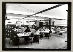 Udarbejdelse af kartotek over engelske krigsfanger i Tyskland, der skulle modtage hjælpepakker
