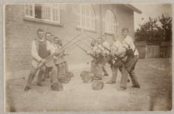 Fægtescene fra Roskilde Kaserne