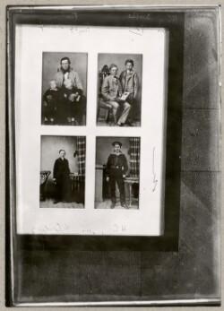 Serie med billeder af Henrik Cavling som barn