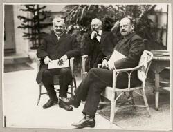 Fra indvielsen af Ordrupgaardsamlingen 14. sepr. 1918