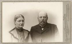 Ægteparret Julie og Morten Pontoppidan