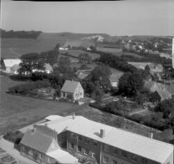 danmark set fra oven 1954