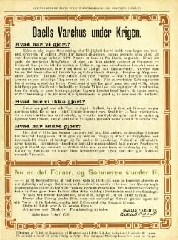 Forårs Tillæg til Katalog 1914-15 (2)