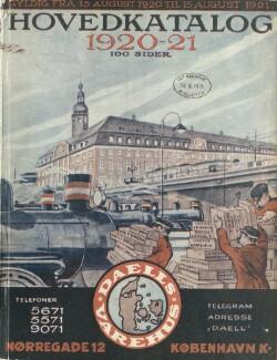 Hovedkatalog 1920-21 : Gyldig fra 15. August 1920 til 15. August 1921