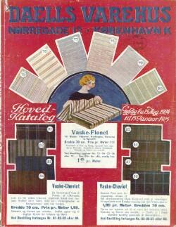 Hoved-Katalog : Gyldig fra 15. Aug. 1924 til 15 Januar 1925