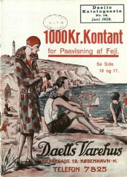 Juni 1928 : Daells Katalogserie Nr. 14