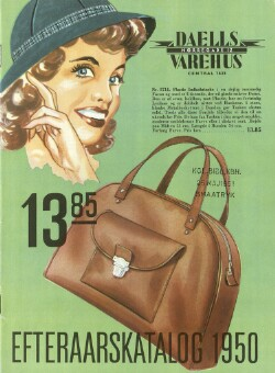 Efterårskatalog 1950