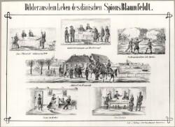 Bilder aus dem leben des dänischen Spions Blaunfeldt