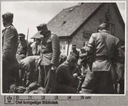 Modstandsfolk og tysk militær