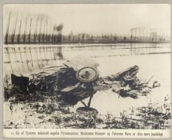 170. En af tyskere nedskudt engelsk Flyvemaskine. Maskinens Nummer og Førerens Navn er ikke mere Kendeligt.