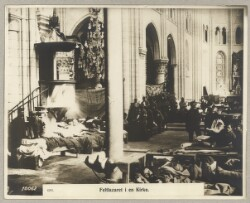 4291. Feltlazaret i en Kirke.