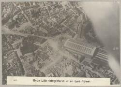 1637. Byen Lille fotograferet af en tysk Flyver.