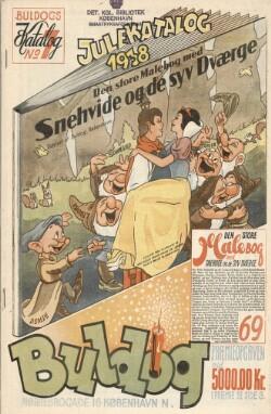 Julekatalog 1938 : Buldogs Katalog No. 7