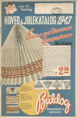 Hoved og Julekatalog 1943 : Katalog nr. 3 - det 93. Katalog