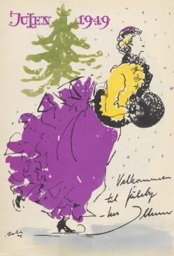 Velkommen til juleby - hos Illum : Julen 1949