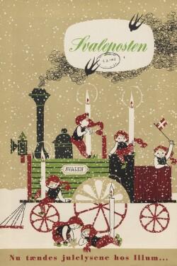 Svaleposten : Nu tændes julelysene hos Illum