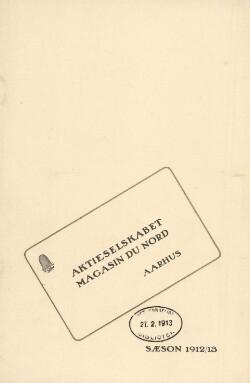 Sæson 1912/13