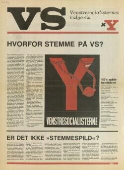 Venstresocialisternes valgavis