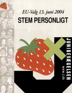 EU-Valg 13. juni 2004 : Stem personligt