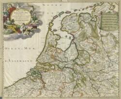 Provinces-Unies des Pays-Bas avec leurs Acquisitions dans la Flandre, le Brabant ...