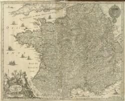 Galliæ, Nova et Accurata descriptio Vulgo Royavme de France
